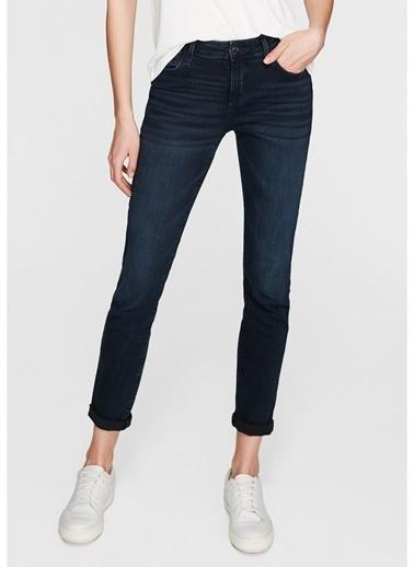 Mavi Mavi Ada Deep Blue-Black Vintage Denim Pantolon Renksiz